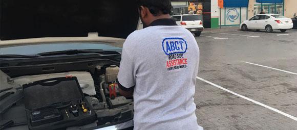 ABCT Battery Boosting Service Dubai
